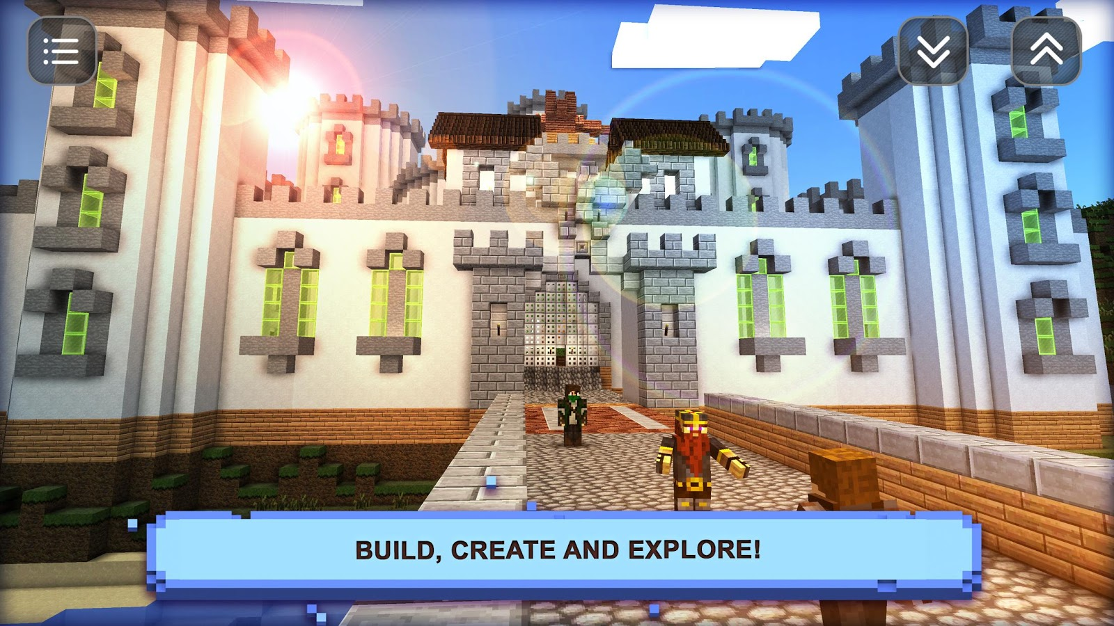 Boys craft creative game android apps on google play for Crafting and building 2