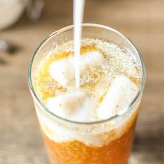 Skinny Vanilla Bean Iced Coffee.