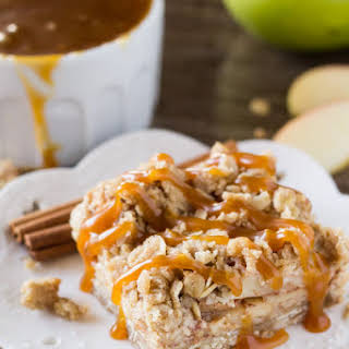 Apple Oatmeal Crumb Bars.