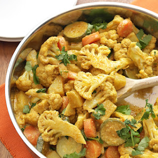 Easy 30-minute Vegetable Korma