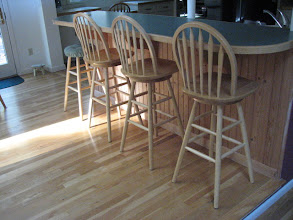 Photo: Maple Bar Stools