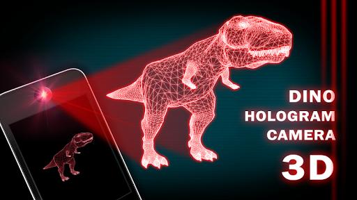 Dino T-Rex Hologram 3D Camera