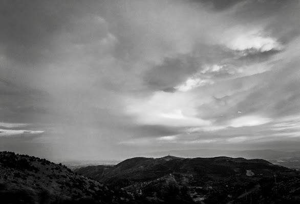 Tramonto sul Pollino  di annarita_borrelli