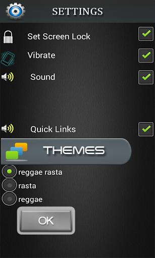 rasta reggae lockscreen