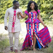 Couples Kente Fashion Styles & Designs
