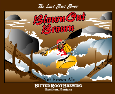 Logo of Bitter Root Nut Brown Ale