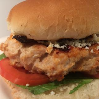 Blue Cheese Chicken Burgers Recipe