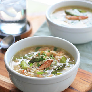 Vietnamese Crab and Asparagus Soup.