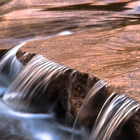 Swimmin' Hole Rapids by Garnie Ross - Landscapes Waterscapes ( water, flowing, rapids, rock, flow )