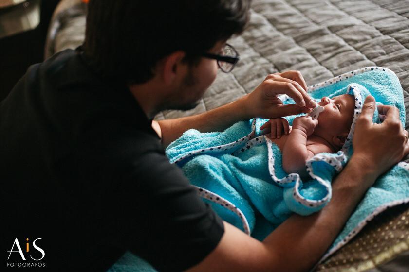 Reportaje de recién nacido