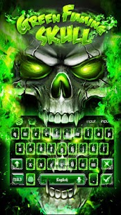 Fire Skull Hot Burning Keyboard Theme for Android - APK Download