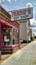 Photo: Ferdie's Key Shop in Pawtucket, RI proudly displaying their BBB Accreditation