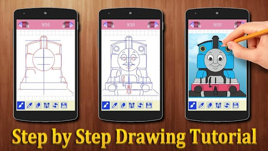 How to Draw Thomas and Friends Characters - náhled