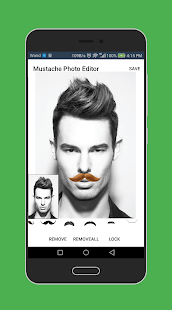 Mustache Photo Editor Pro for Men 2018 - náhled