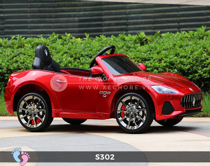 Ô tô cho trẻ em cao cấp Maserati S-302 20