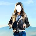 куртки женщин фотомонтаж icon