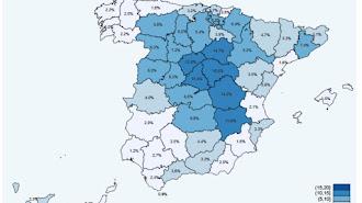 Resultados por provincias del segundo estudio de seroprevalencia.
