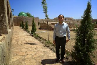 Photo: Dr Haidar Lashkry Khidir, academic, resercher and teacher at Koye University, Koye 2014