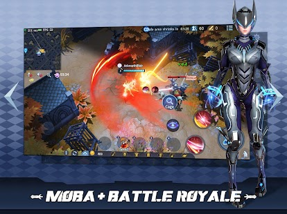 Survival Heroes - MOBA Battle Royale Capture d'écran