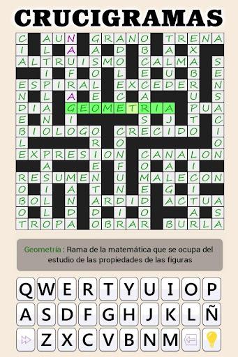 Crosswords - Spanish version (Crucigramas) apkpoly screenshots 21