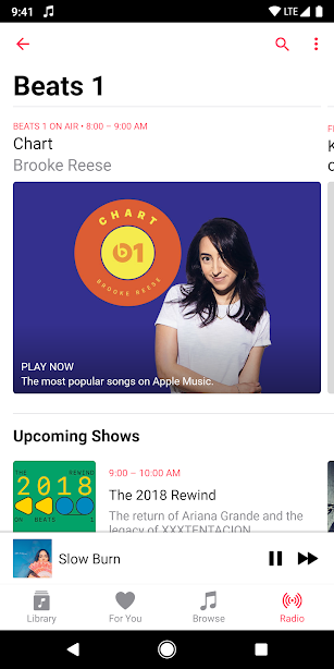 Apple Music screenshot for Android