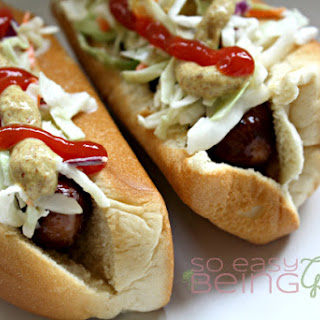 Southern Sweet Cole Slaw Dogs