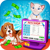 Virtual Pet Shop Store Cashier - Family Games 2018