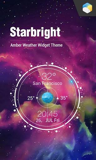 類星盤桌面天氣時鐘,至美設計,實時天氣情況,準確天氣輕鬆獲取