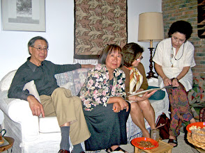 Photo: Han Oei, Lieke Oei-Tan, Judith, en Zita Carels