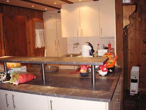 Photo: Moderner Küchenbereich