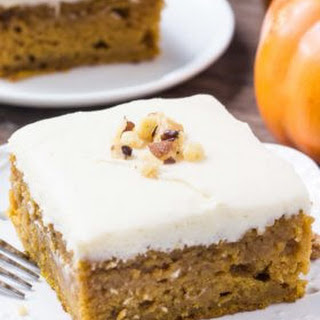 Pumpkin Cake with Maple Frosting Recipe
