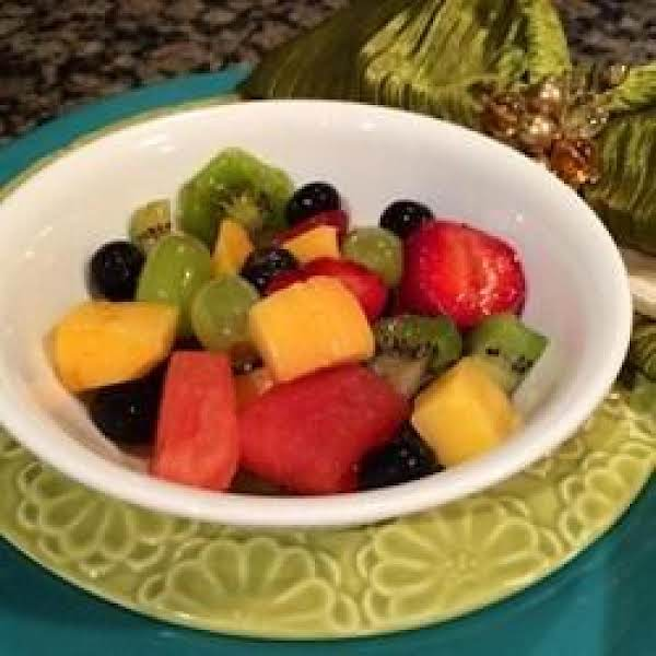 Mojito Fruit Salad Recipe