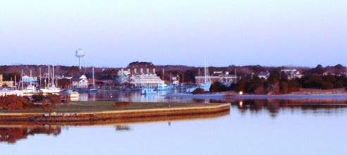 """Photo: Beaufort NC - late afternoon light causing the """"blues."""""""