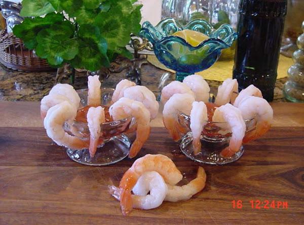 Bonnie's Cocktail Sauce For Shrimp Recipe
