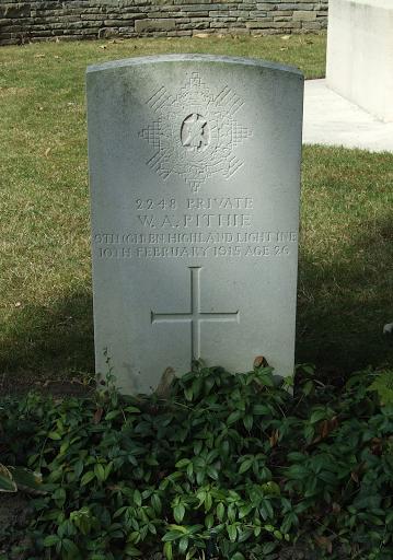 William Allan Pithie grave