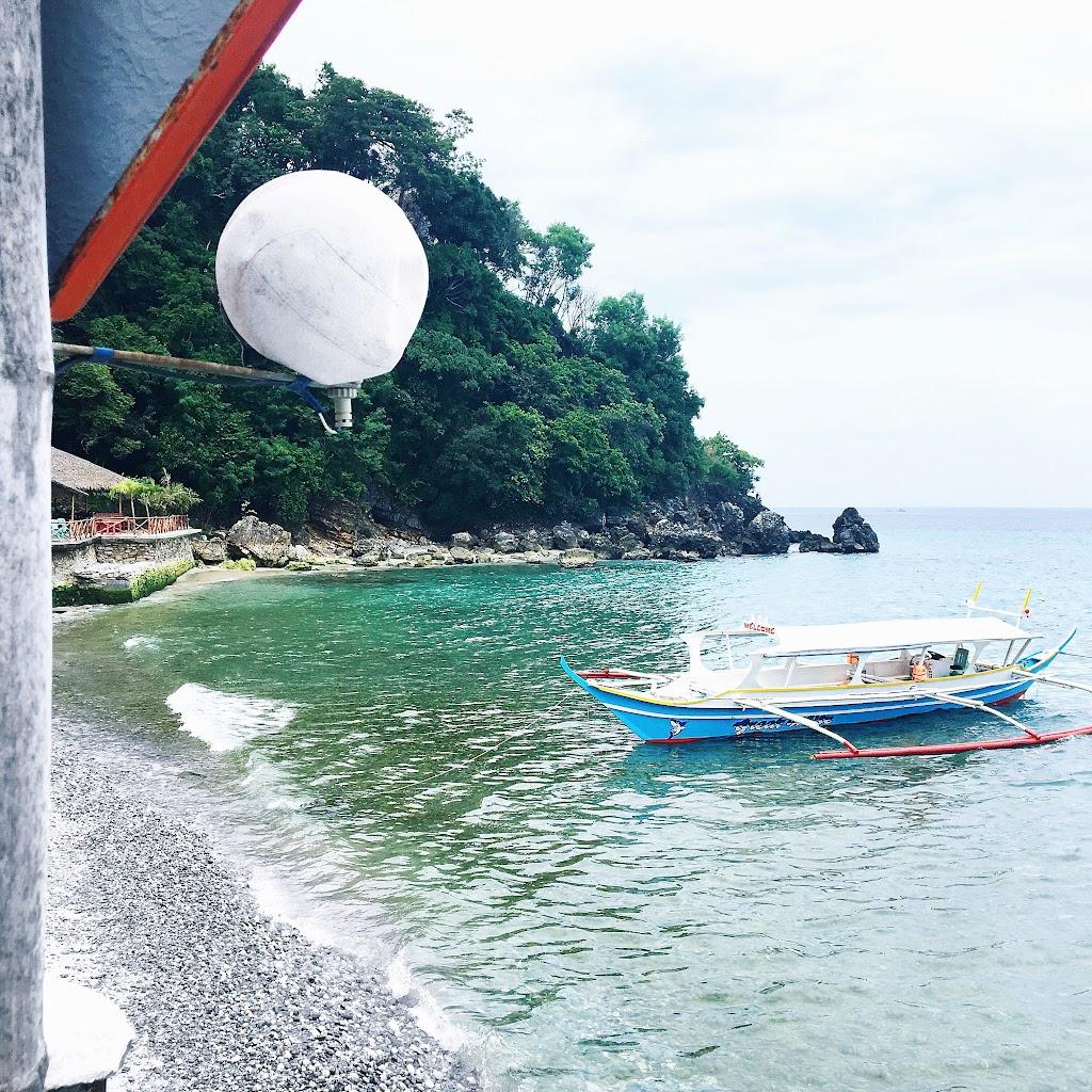 el canonero beach resort puerto galera oriental mindoro beachfront