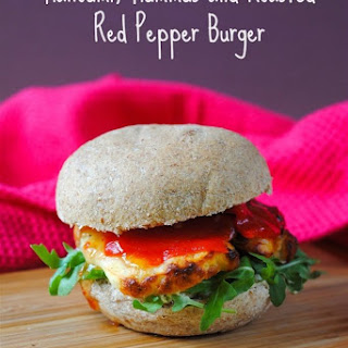 Roasted Red Pepper Burger Recipes.