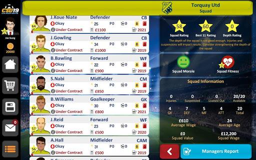 Club Soccer Director 2019 - Soccer Club Management 2.0.25 screenshots 11
