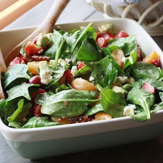 Strawberry, Spinach, Avocado, & Citrus Salad
