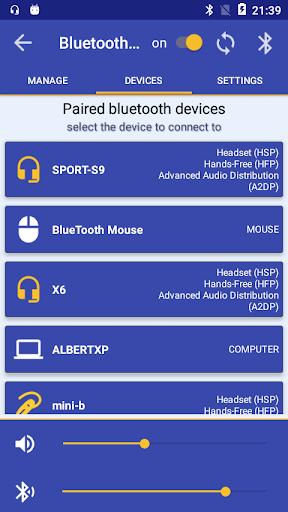 Bluetooth Audio Widget Battery FREE  screenshots 3