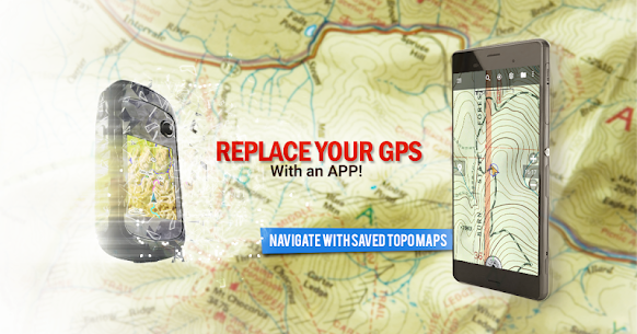 BackCountry Navigator TOPO GPS PRO v5.6.1 Mod APK 1