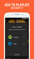 Screenshot of SoundHound Music Search