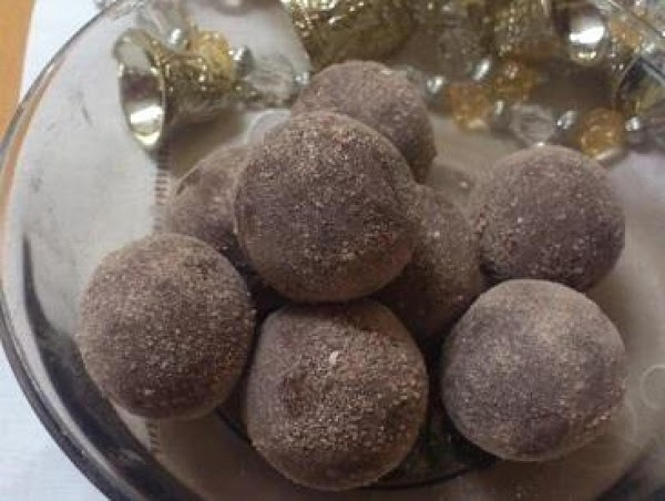 Fruit Cake Truffles Recipe