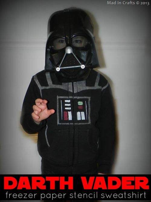 Photo: DIY Darth Vader Hoodie:  http://www.madincrafts.com/2013/01/diy-darth-vader-hoodie.html  #starwarstuesday