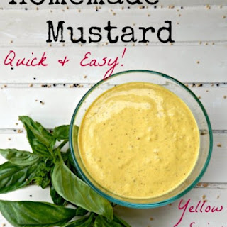 Homemade Mustard Recipe