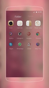 Soft Pink Theme screenshot 5