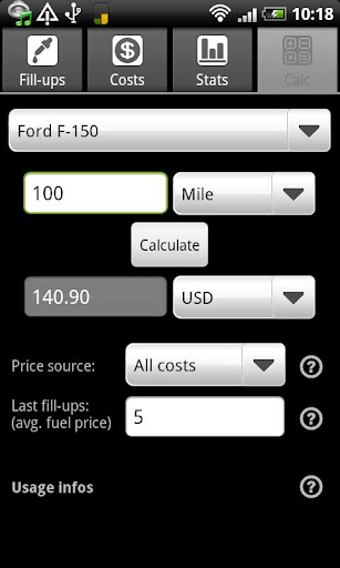 FuelLog screenshot 7