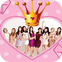 Girls Generation Photo Frames icon