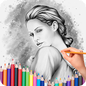 Color Pencil Sketch Pic Editor