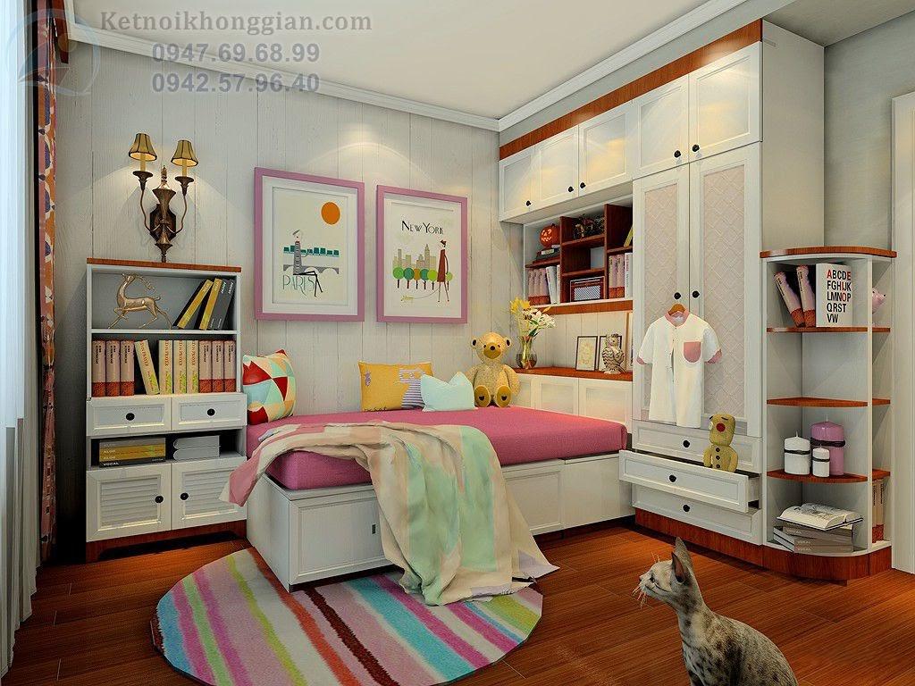 thiết kế nội thất chung cư bắt mắt